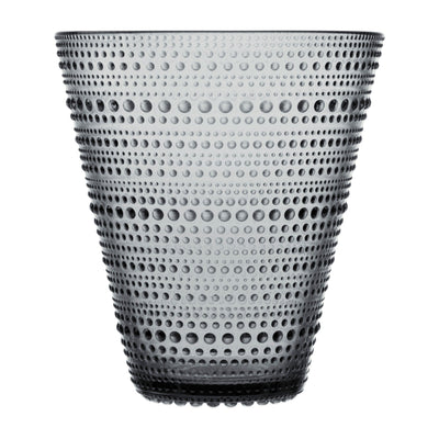 Iittala, Kastehelmi  Vase, assorted colors, Grey- Placewares
