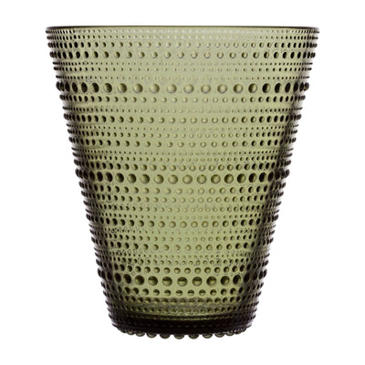 Iittala, Kastehelmi  Vase, assorted colors, Moss Green- Placewares