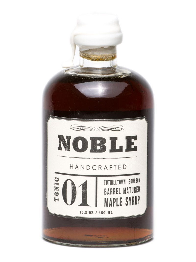 Noble Handcrafted, Bourbon Barrel Matured Maple Syrup, - Placewares