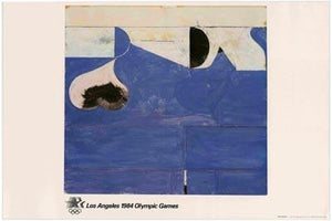 Vintage @ Placewares, Richard Diebenkorn 1984 Los Angeles Olympics Lithograph - As New, - Placewares