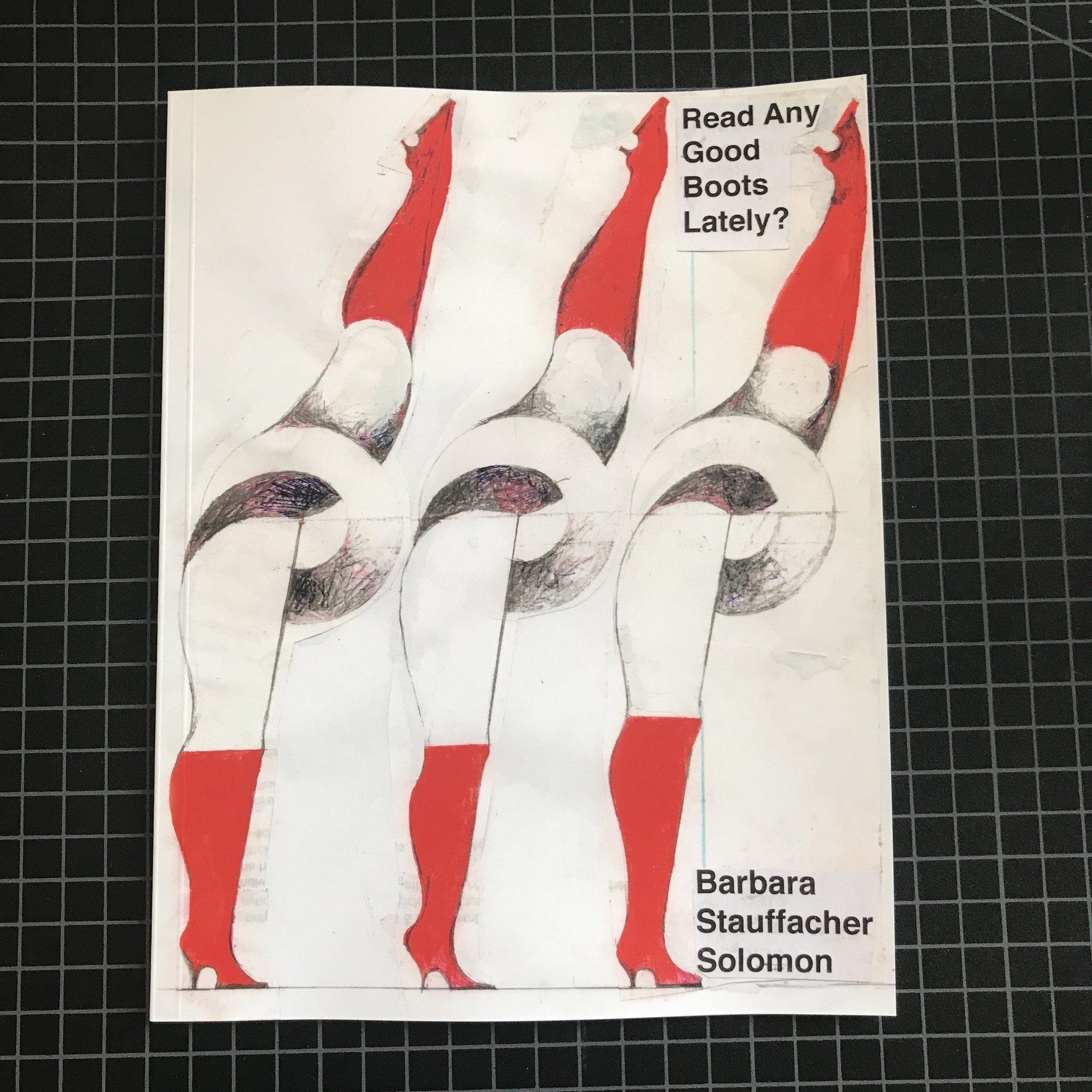 Barbara Stauffacher Solomon, Read Any Good Boots Lately? - Signed Copy, - Placewares