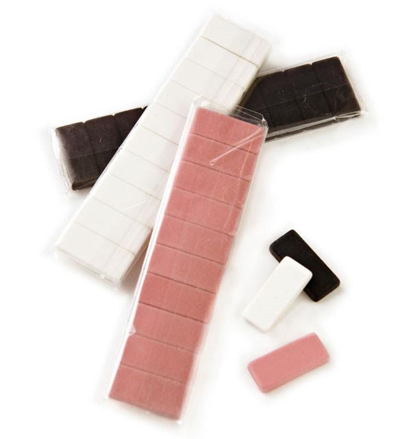 Blackwing, Blackwing Pencil Replacement Erasers - classic collection, Pink- Placewares