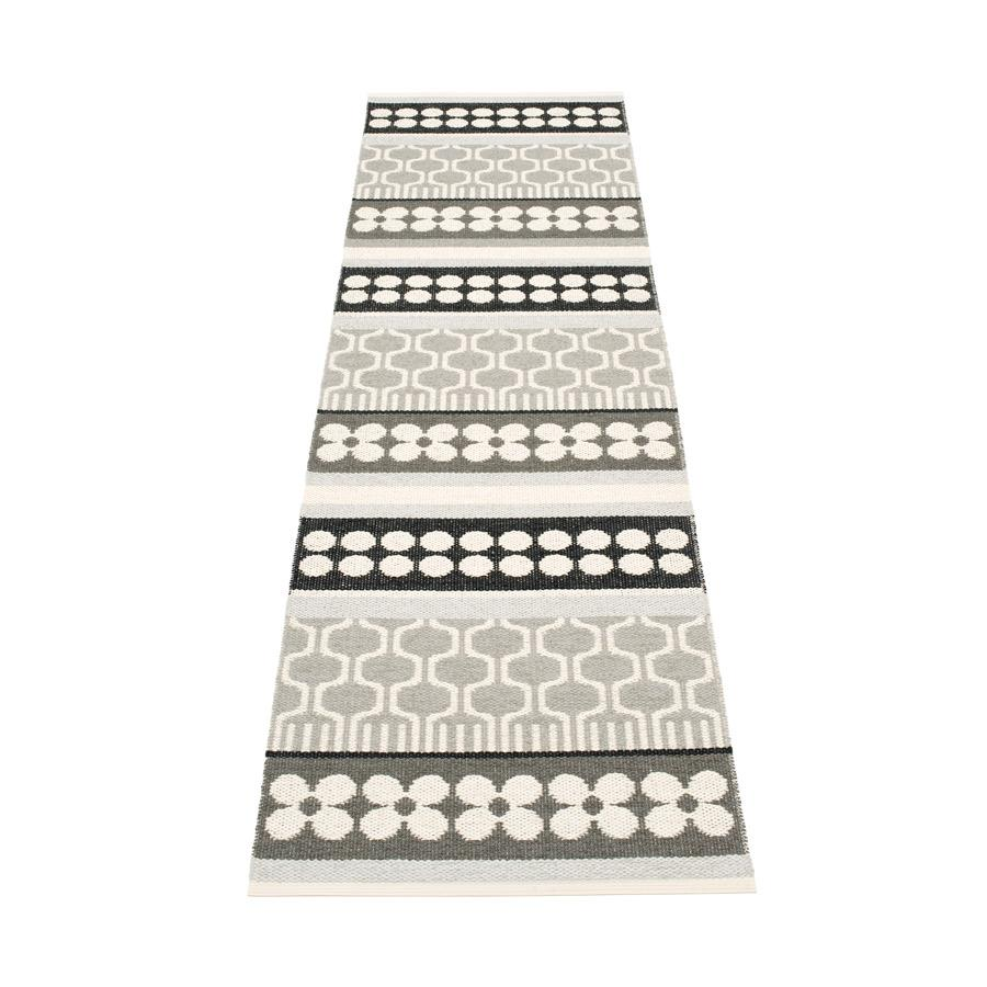 Pappelina, Asta Rug - Warm Gray, 2.25' x 6'- Placewares