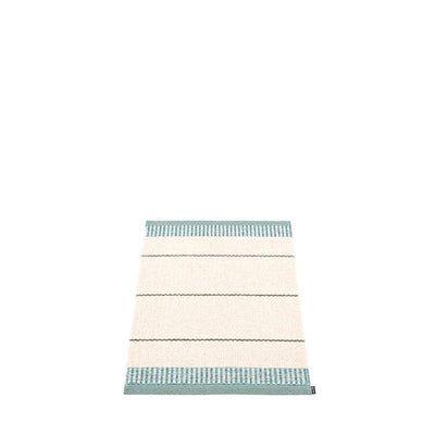 Pappelina, Belle Rug - Haze Blue-Green, 2' x 2.75'- Placewares