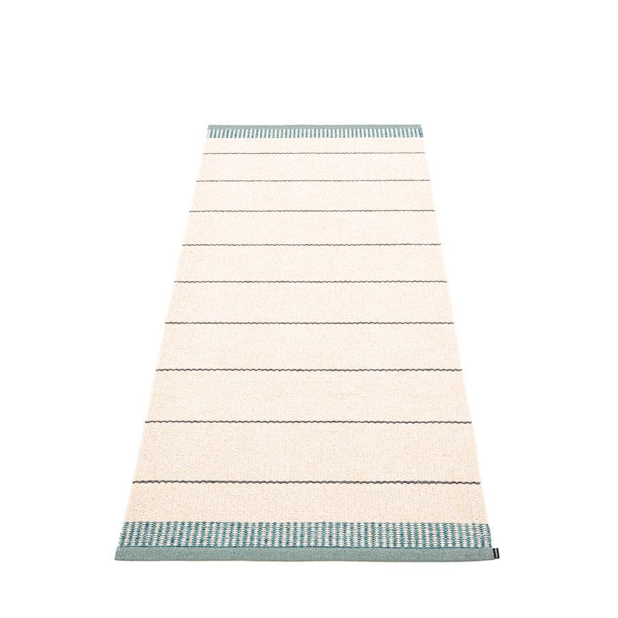 Pappelina, Belle Rug - Haze Blue-Green, 2.75' x 6.5'- Placewares