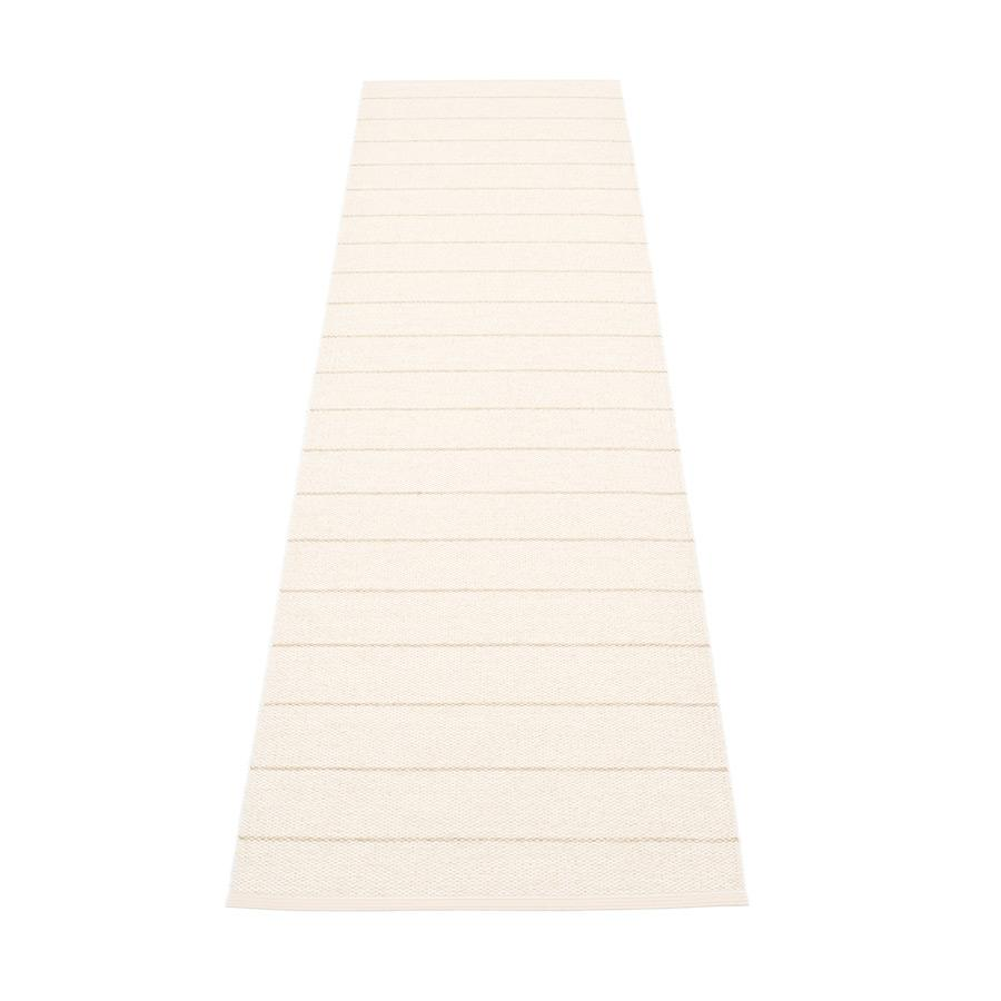 Pappelina, Carl Rug - Vanilla-White, 2.25' x 8.75'- Placewares