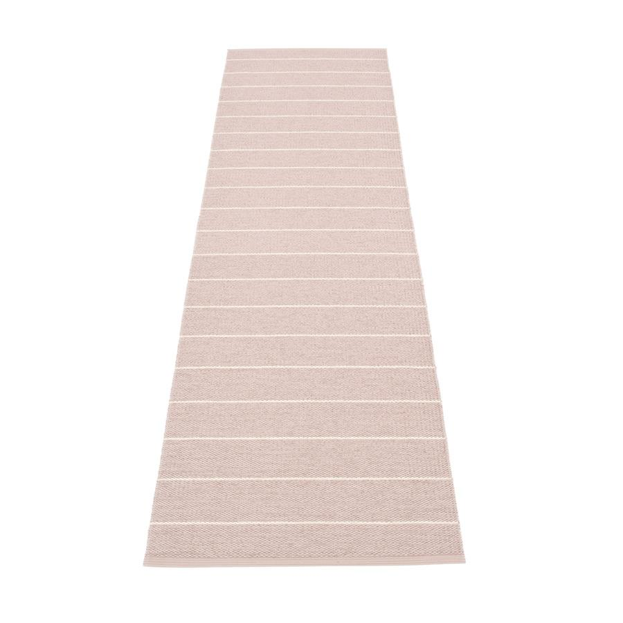 Pappelina, Carl Rug - Pale Rose-Vanilla, 2.25' x 8.75'- Placewares