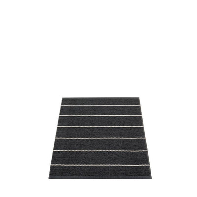 Pappelina, Carl Rug - Black, 2.25' x 3'- Placewares