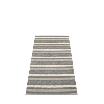 Pappelina, Grace Rug - Charcoal, 2.25' x 4.5'- Placewares