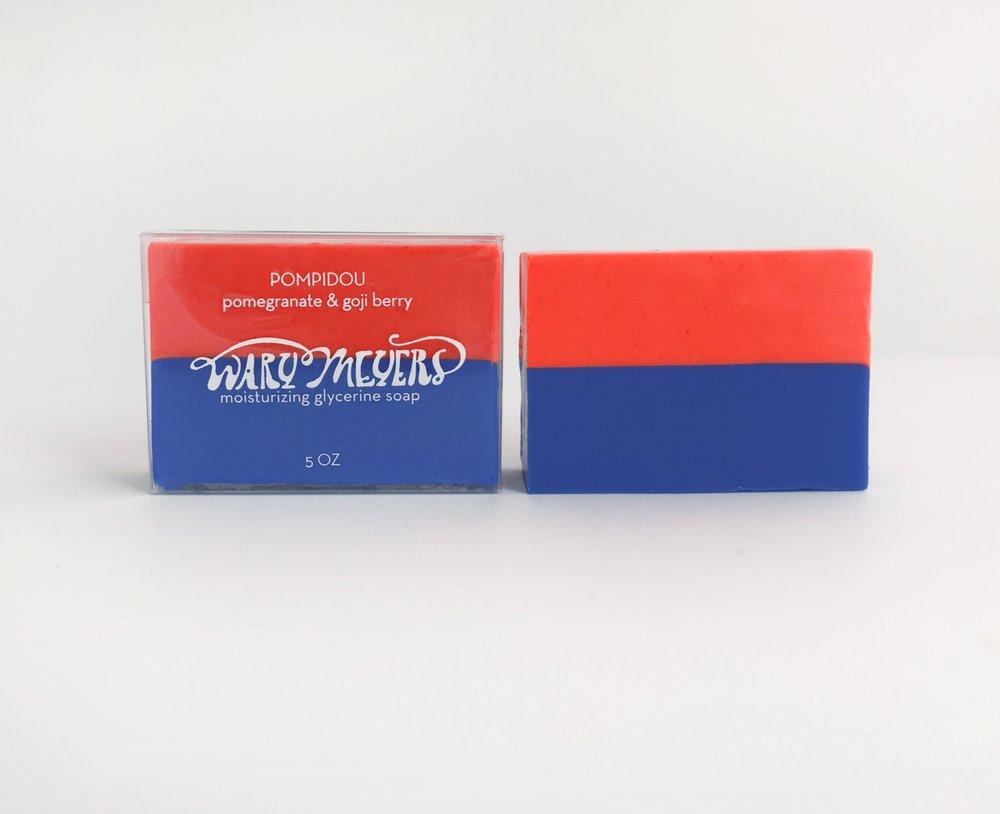 Wary Meyers, Pompidou Soap, - Placewares
