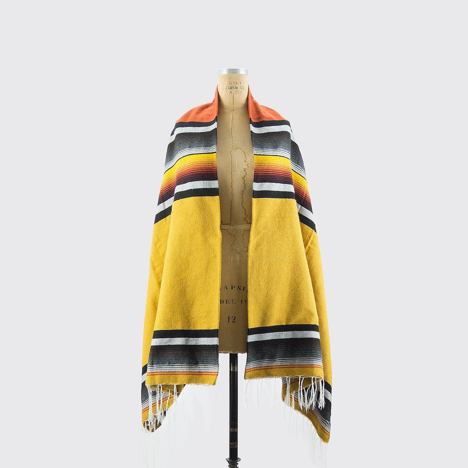 Utilitario Mexicano, Artisan Mexican Sarape, assorted colors, - Placewares