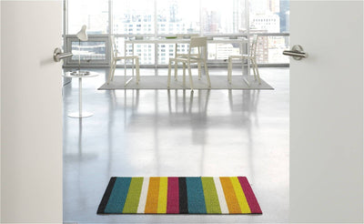 Chilewich, Bold Stripe Shag Big Mat - multiple colors, - Placewares