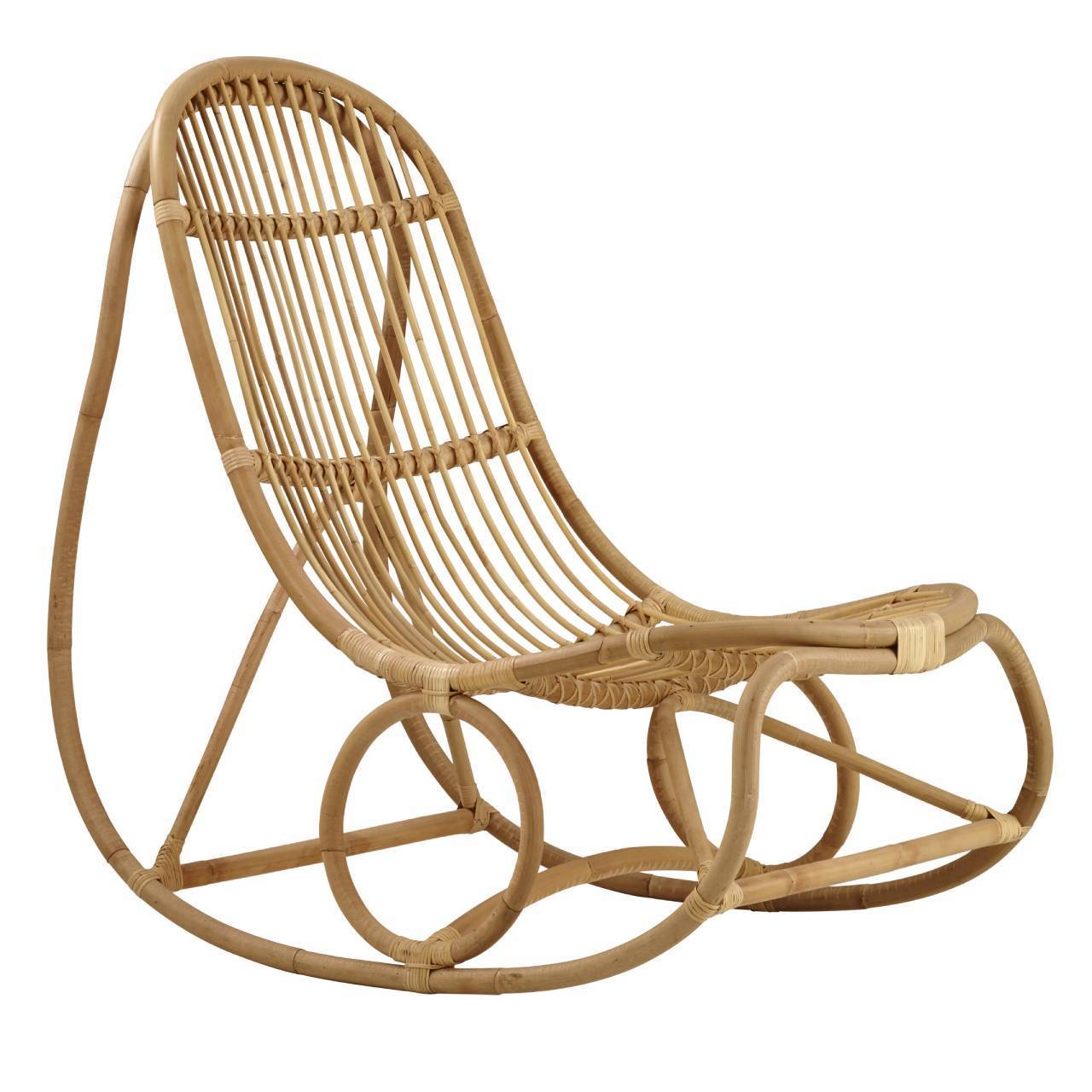 Sika, Nanny Rocking Chair, Natural Skin On- Placewares