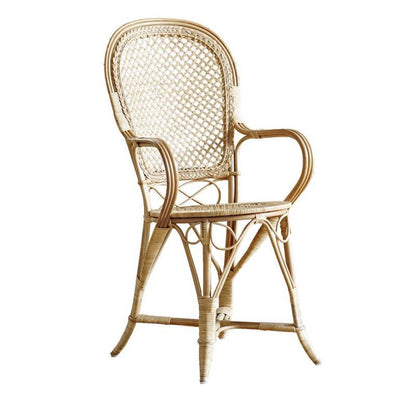 Sika, Fleur Chair, Polished Natural- Placewares