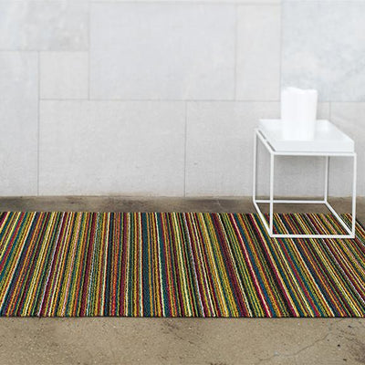 Chilewich, Skinny Stripe Shag, Big Mat - multiple colors, - Placewares