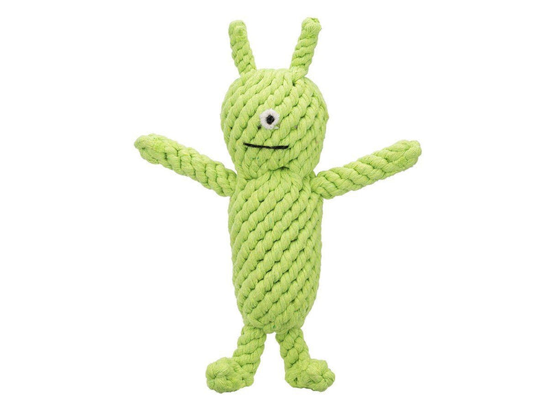 Jax & Bones, Norman the Alien Rope Dog Toy, - Placewares