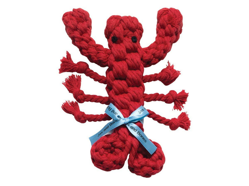 Jax & Bones, Louie the Lobster Dog Rope Toy, - Placewares