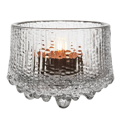 Iittala, Ultima Thule Tealight Candleholder, Clear- Placewares