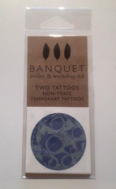 Banquet Atelier & Workshop, The Moon Temporary Tattoos, - Placewares