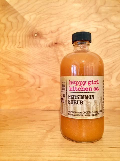 Happy Girl Kitchen, Persimmon Shrub, - Placewares