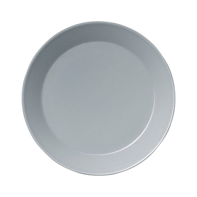 Iittala, Teema Salad Plate, assorted colors, Pearl Gray- Placewares