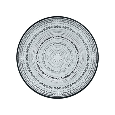 Iittala, Kastehelmi Lunch and Salad Plate, assorted colors, Grey- Placewares