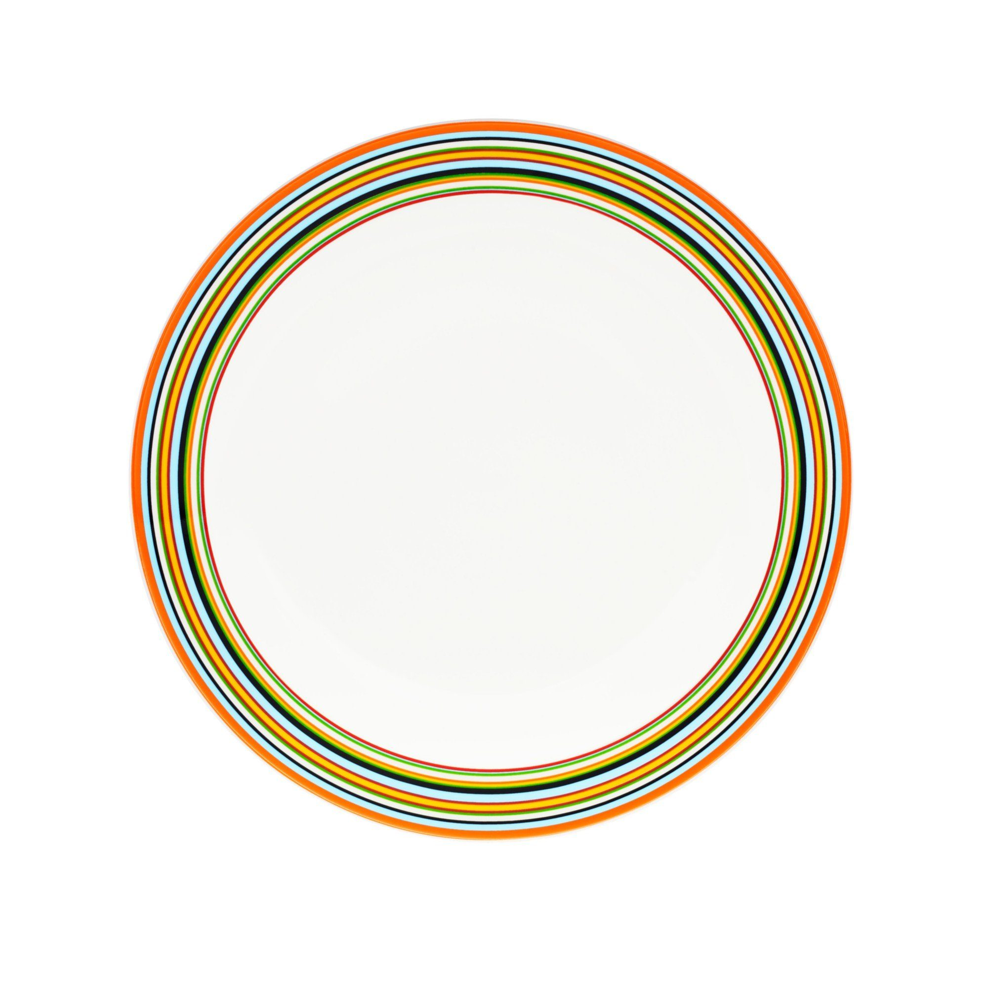 Iittala, Origo Dinner Plate, Orange- Placewares