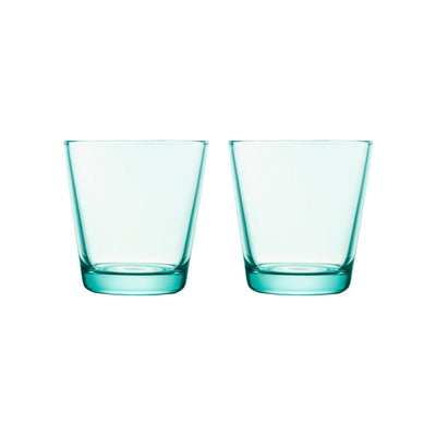 Iittala, Kartio Tumbler,  Set of 2, assorted colors, Water Green- Placewares