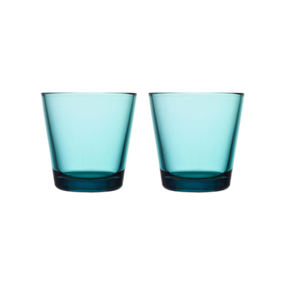 Iittala, Kartio Tumbler,  Set of 2, assorted colors, Sea Blue- Placewares