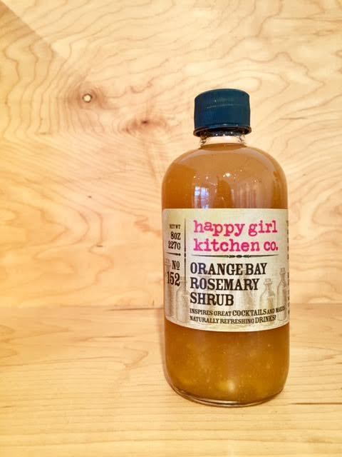 Happy Girl Kitchen, Orange, Bay and Rosemary Shrub, - Placewares