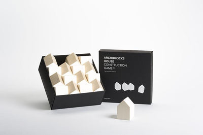 Cinqpoints, House II Construction Game*, White, - Placewares