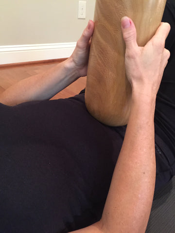 Massage Abdominal Area To Relieve Lower Back Discomfort Tension