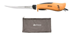 American Angler Electric Filet Knife Set