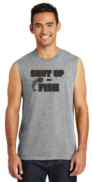 Shut Up & Fish Sleeveless