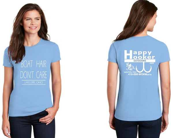"Ladies ""Boat Hair"" Tees and Tanks"