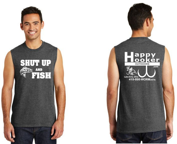 Shut Up and Fish Sleeveless
