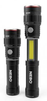 NEBO SLYDEKING RECHARGEABLE FLASHLIGHT