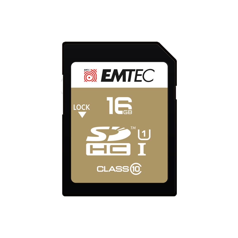 SD-Karte 16GB Gold
