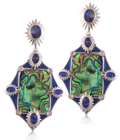 Abalone Earring - Angelique de Paris - 1