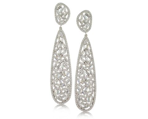 Baguette Earring - Angelique de Paris