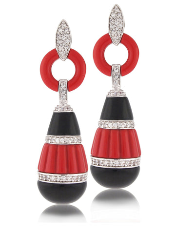 Chinoiserie Earring - Angelique de Paris - 1