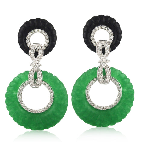 Cristallines Earring - Angelique de Paris - 1