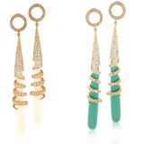 Shangri-La Earring - Angelique de Paris - 4