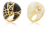 Eau Dome Ring - Angelique de Paris - 2