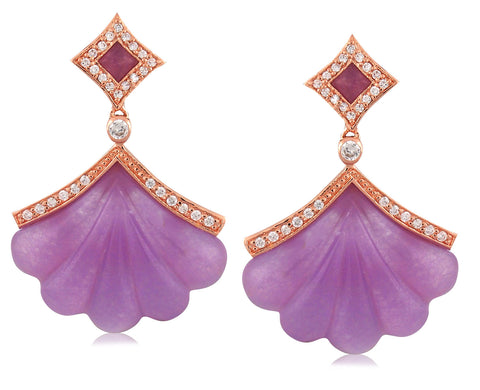 Eventail Earring - Angelique de Paris
