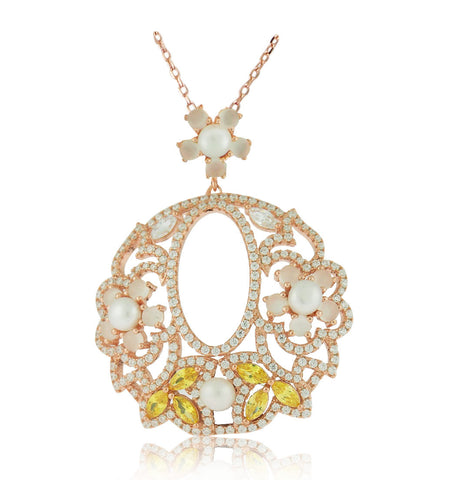 Fleurette Necklace - Angelique de Paris - 1