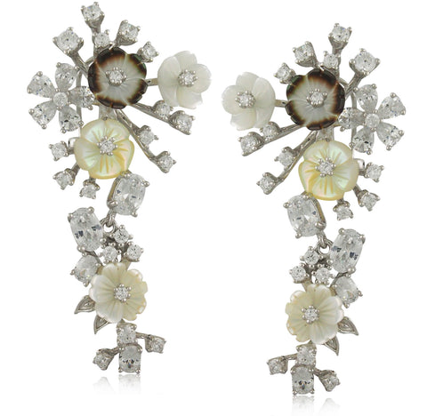 Garland Drop Earring - Angelique de Paris