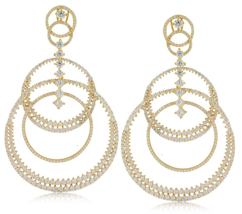 Megahoop Earring - Angelique de Paris - 1