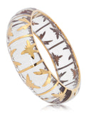 Palmetto Gold Bracelet - Angelique de Paris - 6