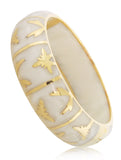 Palmetto Gold Bracelet - Angelique de Paris - 5